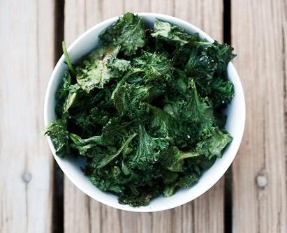 chips kale bio recette